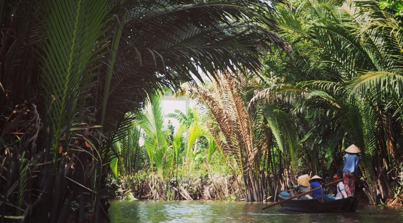 Der braune Mekong und die vielfältige Kokosnuss